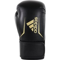 Adidas Speed 100 Bokshandschoenen Zwart-Goud 14 oz