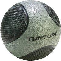 Tunturi medicijnbal 5 kg 23 cm rubber grijs-zwart