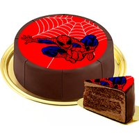 Motiv-Torte Spiderman