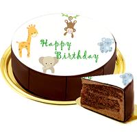 Motiv-Torte Zootiere