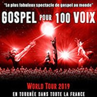 Affiche Grand spectacle  GOSPEL POUR 100 VOIX WORLD TOUR © Fnac Spectacles