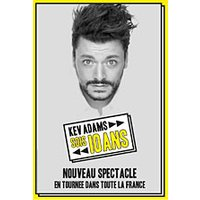 Affiche One man/woman show  KEV ADAMS © Fnac Spectacles