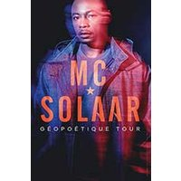 Affiche Rap/Hip-hop/Slam  MC SOLAAR © Fnac Spectacles