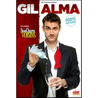 Affiche One man/woman show  GIL ALMA © Fnac Spectacles