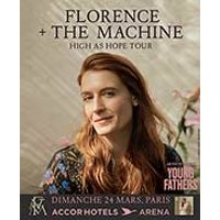 Affiche Pop-rock / Folk  FLORENCE + THE MACHINE © Fnac Spectacles