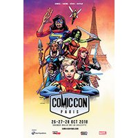 Affiche Salon/Foire  COMIC CON PARIS 2018 © Fnac Spectacles