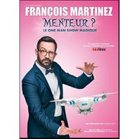 Affiche One man/woman show  FRANCOIS MARTINEZ © Fnac Spectacles