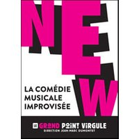 Affiche Comédie musicale  NEW-LA COMEDIE MUSICALE IMPROVISEE © Fnac Spectacles