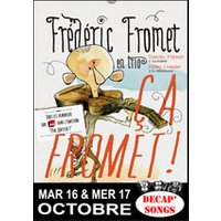 Affiche Humoristes  FRED FROMET © Fnac Spectacles