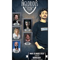 Affiche Humoristes  INGLORIOUS COMEDY CLUB © Fnac Spectacles