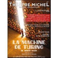 Affiche Théâtre contemporain  LA MACHINE DE TURING © Fnac Spectacles