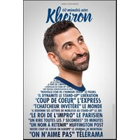 Affiche One man/woman show  60 MINUTES AVEC KHEIRON © Fnac Spectacles