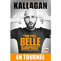 Affiche Humoristes  KALLAGAN © Fnac Spectacles