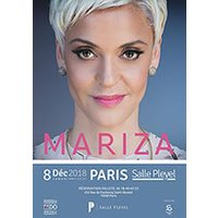 Affiche Variété internationale  MARIZA © Fnac Spectacles