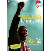 Affiche Comédie musicale  MADIBA LE MUSICAL © Fnac Spectacles