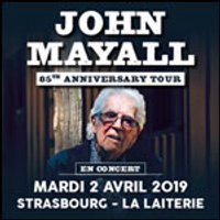 Affiche Blues/Country  JOHN MAYALL © Fnac Spectacles