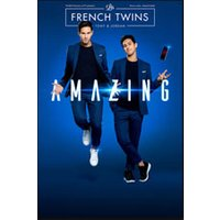 Affiche Humoristes  AMAZING - LES FRENCH TWINS © Fnac Spectacles