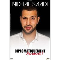 Affiche Humoristes  NIDHAL SAADI © Fnac Spectacles