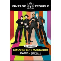 Affiche Blues/Country  VINTAGE TROUBLE © Fnac Spectacles