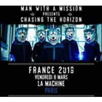 Affiche Rock  MAN WITH A MISSION © Fnac Spectacles