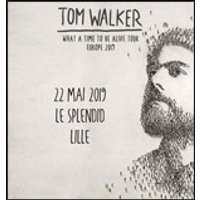Affiche Pop-rock / Folk  TOM WALKER © Fnac Spectacles