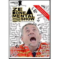 Affiche Spectacle de magie  ZE ONE MENTAL SHOW © Fnac Spectacles