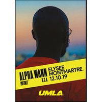 Affiche Rap/Hip-hop/Slam  ALPHA WANN © Fnac Spectacles