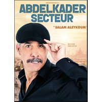 Affiche One man/woman show  ABDELKADER SECTEUR © Fnac Spectacles