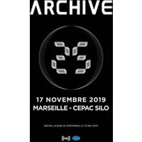 Affiche Pop-rock / Folk  ARCHIVE © Fnac Spectacles