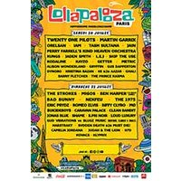 Affiche Pop-rock / Folk  LOLLAPALOOZA PARIS © Fnac Spectacles