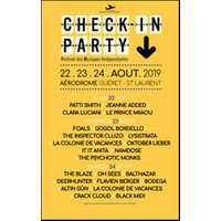 Affiche Pop-rock / Folk  CHECK IN PARTY - PASS LONG COURRIER © Fnac Spectacles