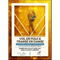 Affiche Danse contemporaine  VOL EN POLE & TRANSE EN DANSE © Fnac Spectacles