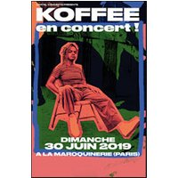 Affiche Reggae  KOFFEE © Fnac Spectacles
