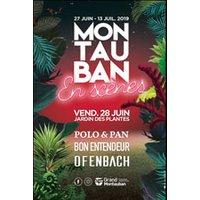 Affiche Pop-rock / Folk  POLO & PAN +BON ENTENDEUR +OFENBACH © Fnac Spectacles