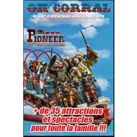 Affiche Parc d'attraction  OK CORRAL © Fnac Spectacles