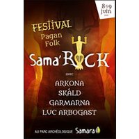 Affiche Pop-rock / Folk  SAMA'ROCK FESTIVAL © Fnac Spectacles