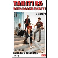 Affiche Pop-rock / Folk  TAHITI 80 - UNPLUGGED PARTY ! © Fnac Spectacles