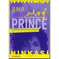 Affiche R'n'B/Soul/Funk  ECHOES OF PRINCE © Fnac Spectacles