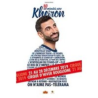 Affiche One man/woman show  80 MINUTES AVEC KHEIRON © Fnac Spectacles