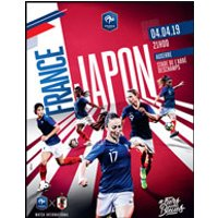 Affiche Football  FRANCE / JAPON © Fnac Spectacles