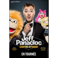Affiche One man/woman show  JEFF PANACLOC CONTRE ATTAQUE © Fnac Spectacles