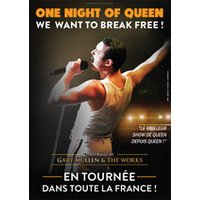 Affiche Variété internationale  ONE NIGHT OF QUEEN © Fnac Spectacles