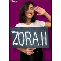Affiche One man/woman show  ZORA.H © Fnac Spectacles