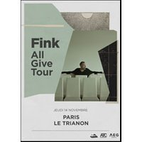 Affiche Pop-rock / Folk  FINK © Fnac Spectacles