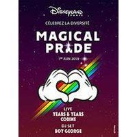 Affiche Parc d'attraction  SOIREE MAGICAL PRIDE © Fnac Spectacles