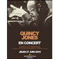 Affiche Jazz  QUINCY JONES © Fnac Spectacles