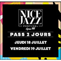 Affiche Jazz  NICE JAZZ FESTIVAL PASS 2 JOURS © Fnac Spectacles