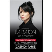 Affiche One man/woman show  LA BAJON © Fnac Spectacles