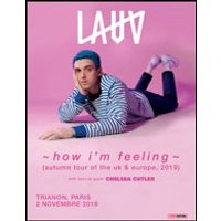 Affiche Pop-rock / Folk  LAUV © Fnac Spectacles