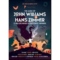 Affiche Ciné-concert  THE MUSIC OF JOHN WILLIAMS © Fnac Spectacles